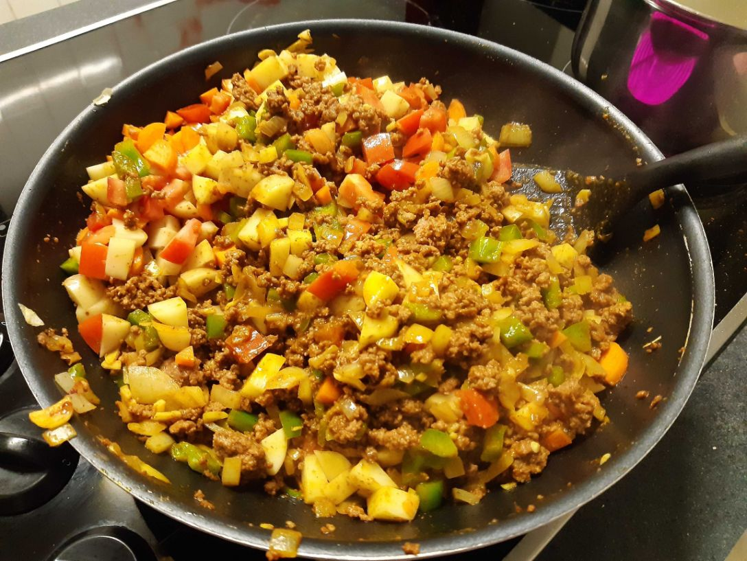curry mince recipe cooking
